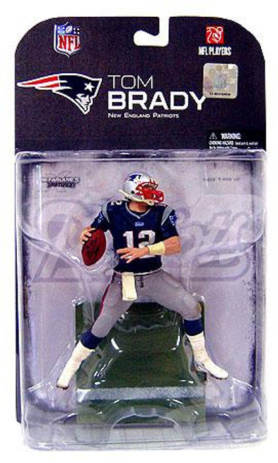 McFarlane Toys NFL New England Patriots Sports Picks Series 18 Tom Brady Action Figure [Dirty Pants]