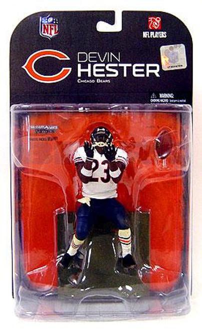 McFarlane Toys NFL Chicago Bears Sports Picks Series 18 Devin Hester Action Figure [White Wrist Bands]