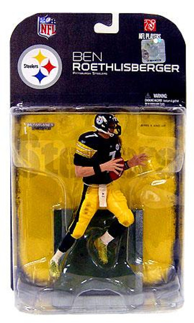 McFarlane Toys NFL Pittsburgh Steelers Sports Picks Series 18 Ben Roethlisberger Action Figure [Dirty Uniform]