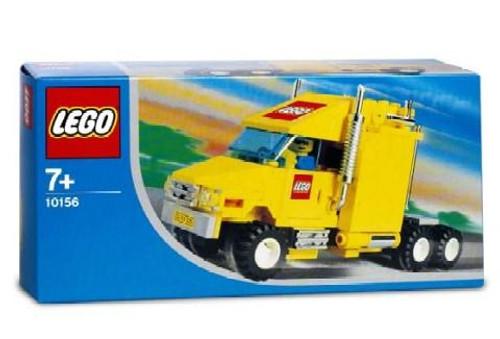 LEGO City Truck Exclusive Set #10156