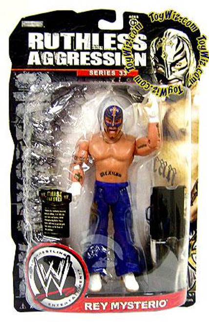 WWE Wrestling Ruthless Aggression Series 33 Rey Mysterio Action Figure