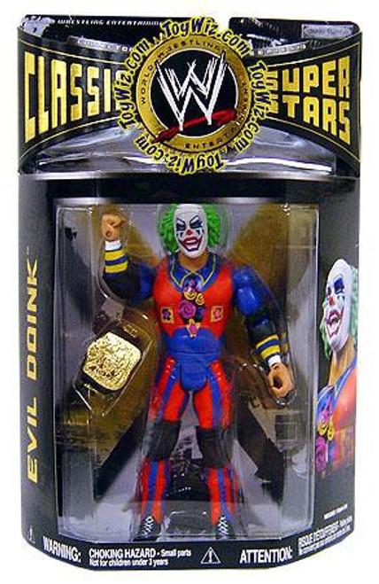 WWE Wrestling Classic Superstars Series 19 Evil Doink Action Figure
