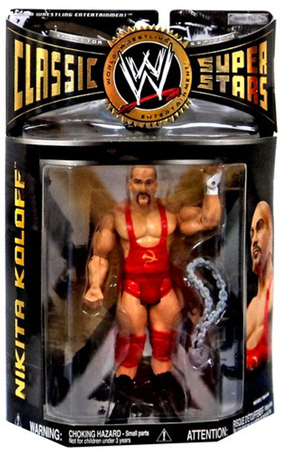 WWE Wrestling Classic Superstars Series 19 Nikita Koloff Action Figure