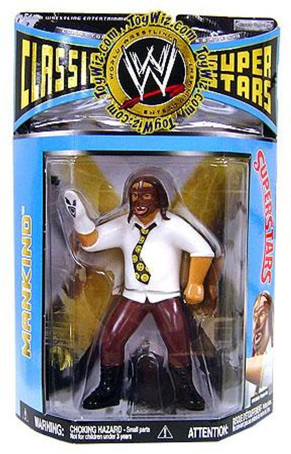 WWE Wrestling Classic Superstars Series 19 Mankind Action Figure