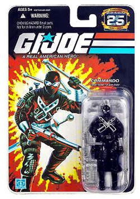 GI Joe 25th Anniversary Wave 7 Snake Eyes Action Figure