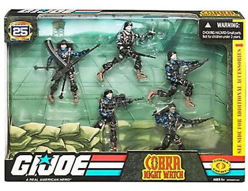 GI Joe 25th Anniversary Cobra Night Watch Exclusive Action Figure Set
