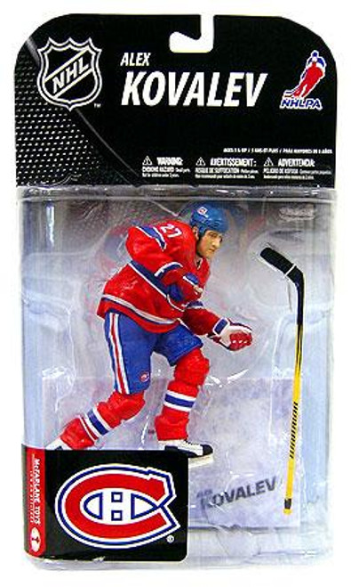 McFarlane Toys NHL Montreal Canadiens Sports Picks Series 19 Alexei Kovalev Action Figure