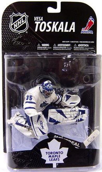 McFarlane Toys NHL Toronto Maple Leafs Sports Picks Series 20 Vesa Toskala Action Figure