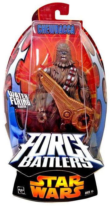 Star Wars Revenge of the Sith Force Battlers Chewbacca Action Figure