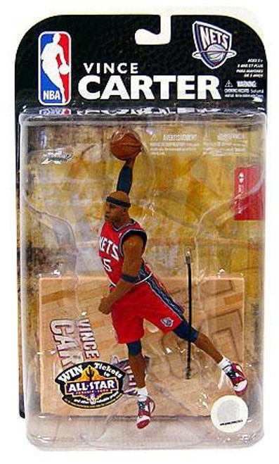 McFarlane Toys NBA New Jersey Nets Sports Picks Series 15 Vince Carter Action Figure
