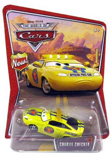 Disney Cars The World of Cars Series 1 Charlie Checker Diecast Car