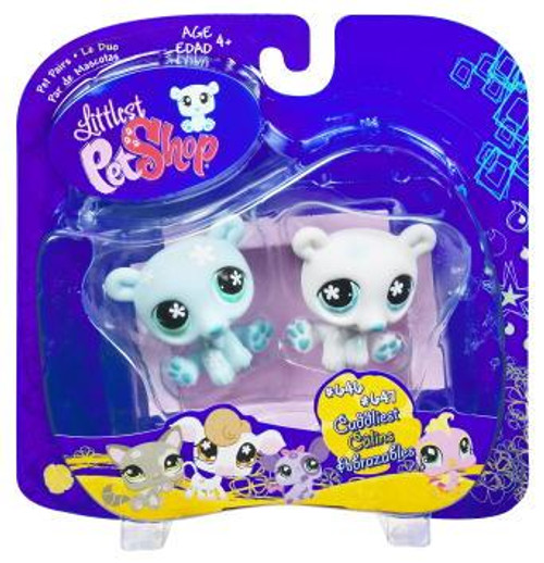Littlest Pet Shop Pet Pairs Twin Polar Bears 2-Pack