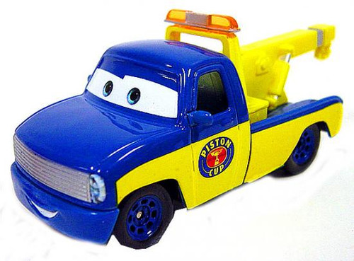 Disney Cars Loose Race Crew Tow Truck Diecast Car [Loose]