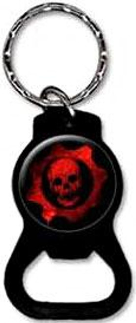 NECA Gears of War Red Skull Bottle Opener Keychain