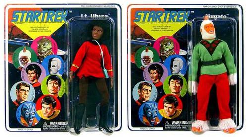Star Trek The Original Series Set of Both Series 5 Cloth Retro Action Figures