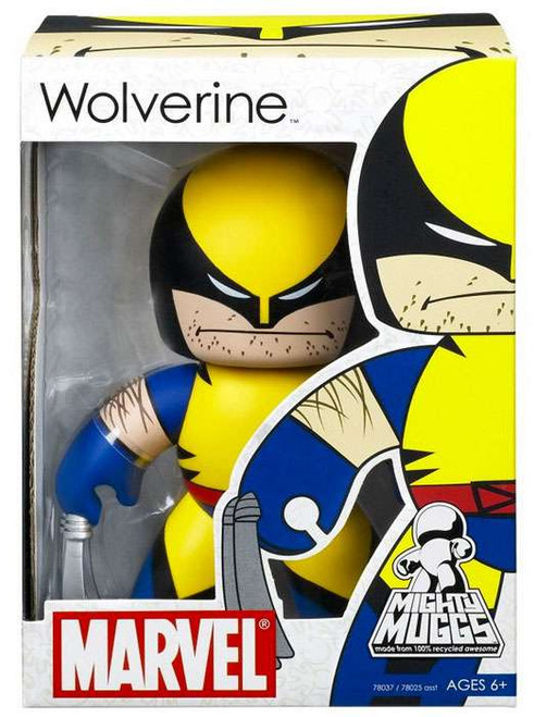 Marvel Mighty Muggs Series 1 Wolverine Vinyl Figure