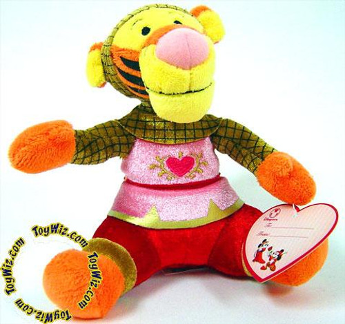 Disney Winnie the Pooh Tigger Exclusive 5-Inch Plush [Valentine]