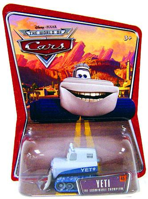 Disney Cars The World of Cars Series 1 Yeti Diecast Car