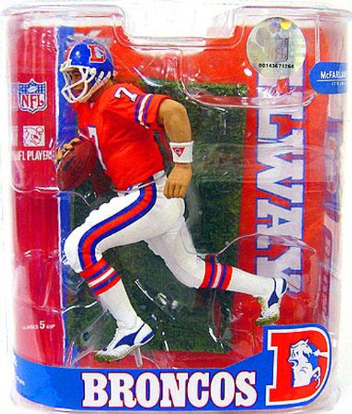 McFarlane Toys NFL Denver Broncos Sports Picks Legends Series 3 John Elway Exclusive Action Figure [Orange Jersey Variant]