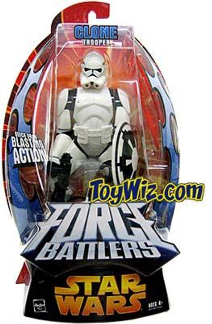 Star Wars Revenge of the Sith Force Battlers Clone Trooper Action Figure