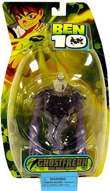 Ben 10 DNA Alien Heroes Ghostfreak Action Figure