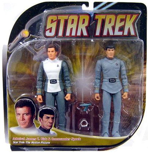 Star Trek The Motion Picture Kirk & Spock Action Figure 2-Pack