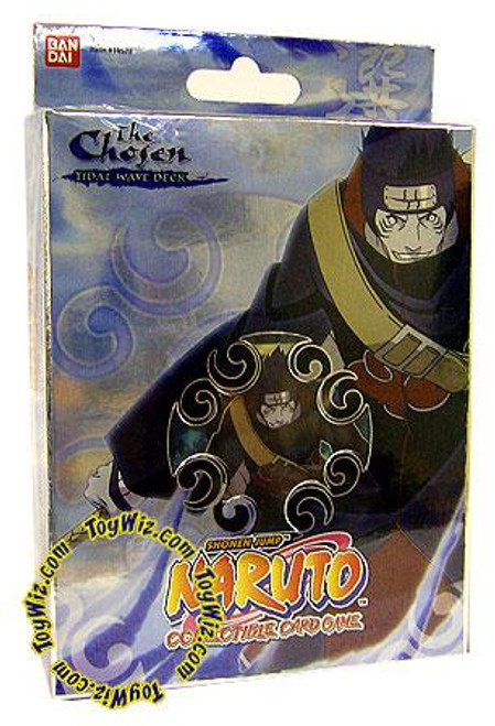 Naruto Card Game Chosen Kisame's Tidal Wave Theme Deck [Deck A]