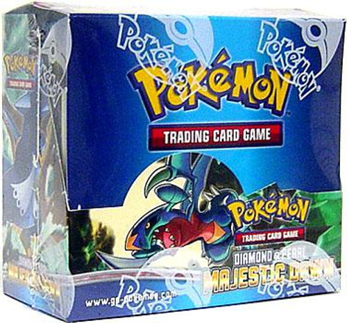 Pokemon Diamond & Pearl Majestic Dawn Booster Box [36 Packs] [Sealed]