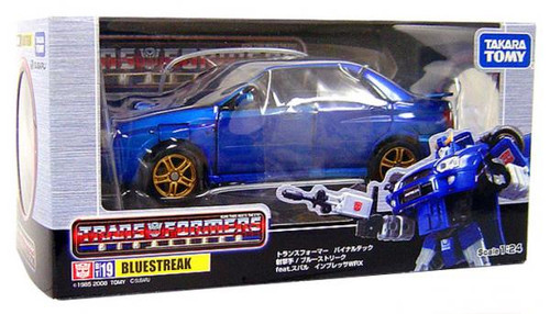 Transformers Japanese Binaltech Bluestreak Subaru Impreza Action Figure BT-19
