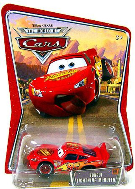 Disney Cars The World of Cars Series 1 Tongue Lightning McQueen Diecast Car