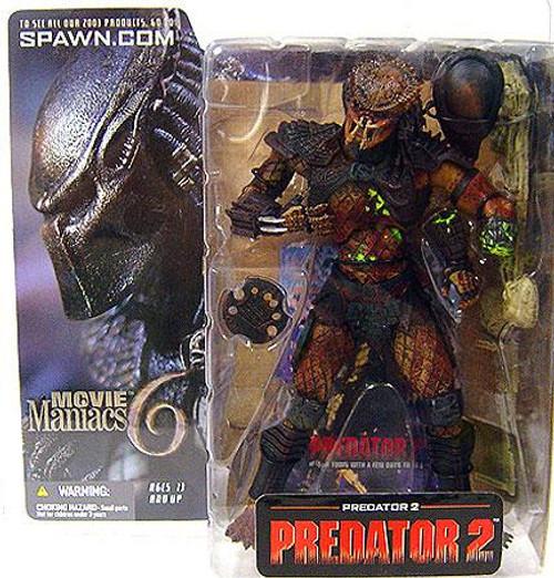 McFarlane Toys Movie Maniacs Series 6 Predator 2 Action Figure