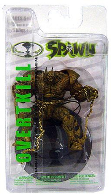 McFarlane Toys Spawn Series 2 Overtkill Action Figure [Gold Variant]