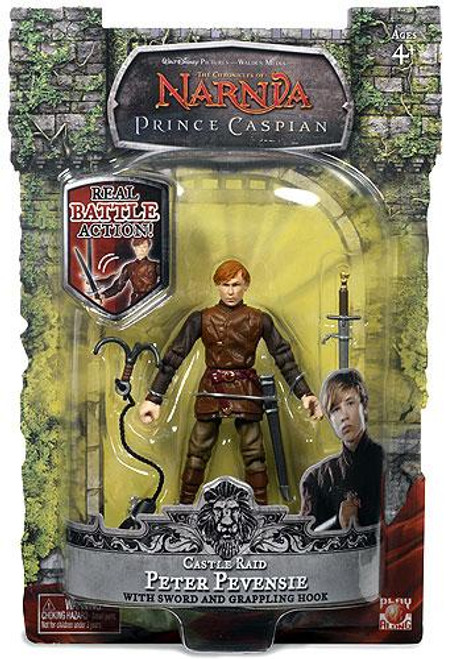 The Chronicles of Narnia Prince Caspian Castle Raid Peter Pevensie Action Figure