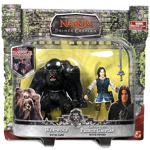 The Chronicles of Narnia Wer-Wolf & Castle Raid Prince Caspian Action Figure 2-Pack