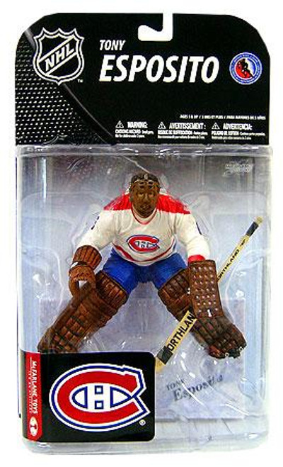 McFarlane Toys NHL Montreal Canadiens Sports Picks Series 19 Tony Esposito Action Figure