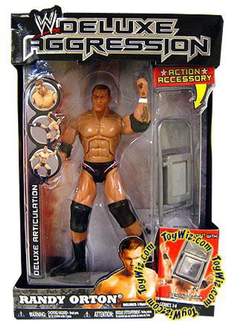 WWE Wrestling Deluxe Aggression Series 14 Randy Orton Action Figure