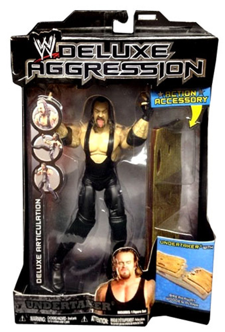 WWE Wrestling Deluxe Aggression Series 14 Undertaker Action Figure