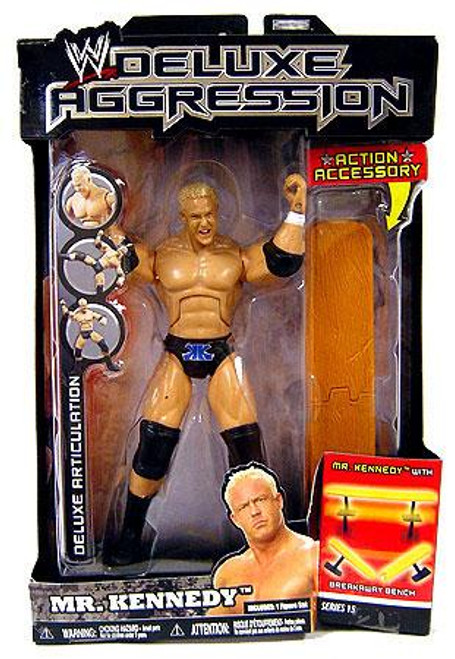 WWE Wrestling Deluxe Aggression Series 15 Mr. Kennedy Action Figure
