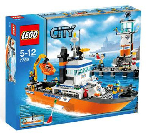 LEGO City Coast Guard Patrol Boat & Tower Set #7739