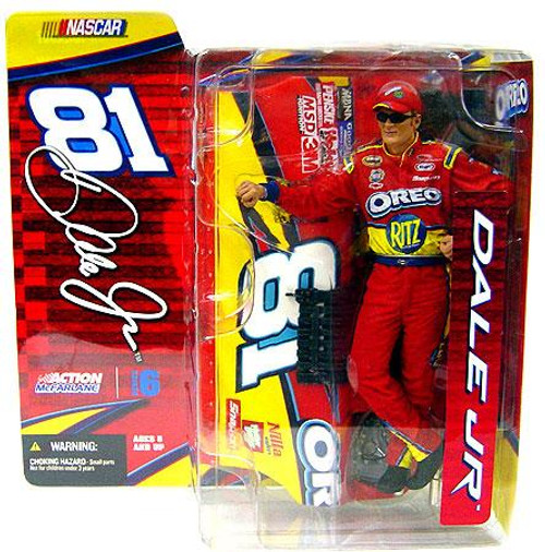 McFarlane Toys NASCAR Series 6 Dale Earnhardt Jr. Action Figure