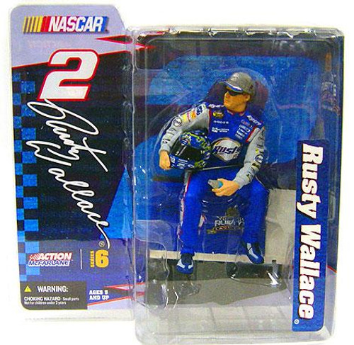 McFarlane Toys NASCAR Series 6 Rusty Wallace Action Figure