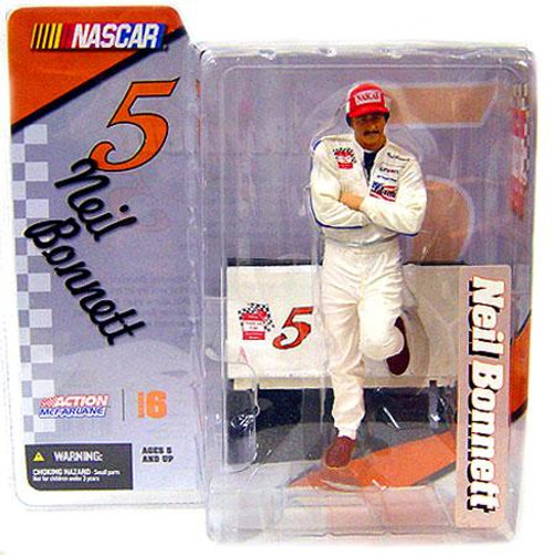 McFarlane Toys NASCAR Series 6 Neil Bonnett Action Figure