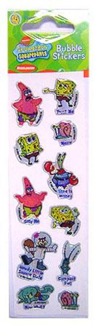 Spongebob Squarepants Bubble Stickers