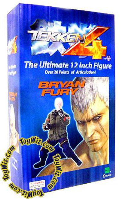 Tekken 4 Bryan Fury 12-Inch Collectible Figure