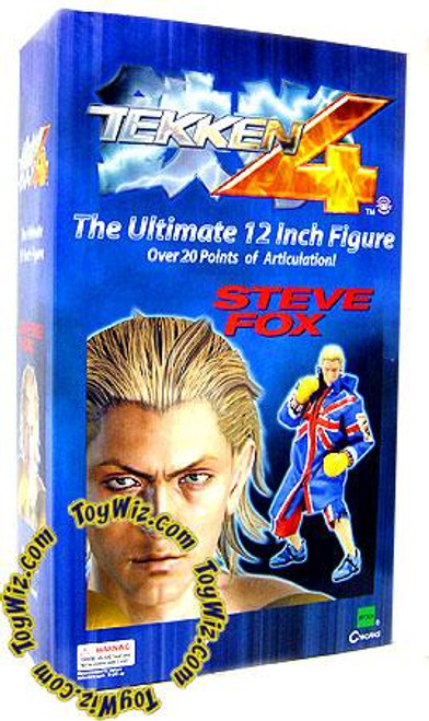 Tekken 4 Steve Fox 12-Inch Collectible Figure
