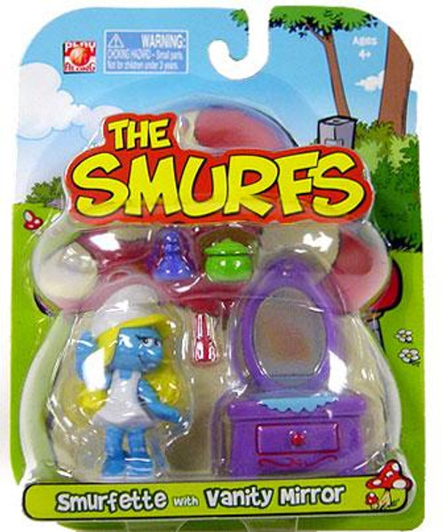 The Smurfs Articulated Smurfette 2-Inch Mini Figure [With Vanity Mirror]