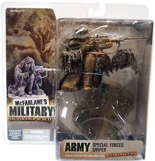 McFarlane Toys McFarlane's Military Series 2: 2nd Tour of Duty Special Forces Sniper Action Figure [Caucasian]