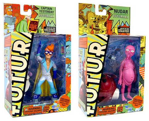 Futurama Series 4 Set of 2 Action Figure