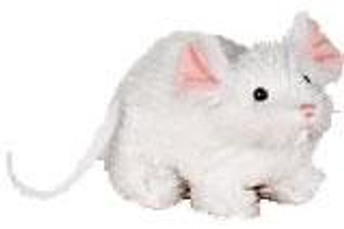 Webkinz Lil' Kinz White Mouse Plush