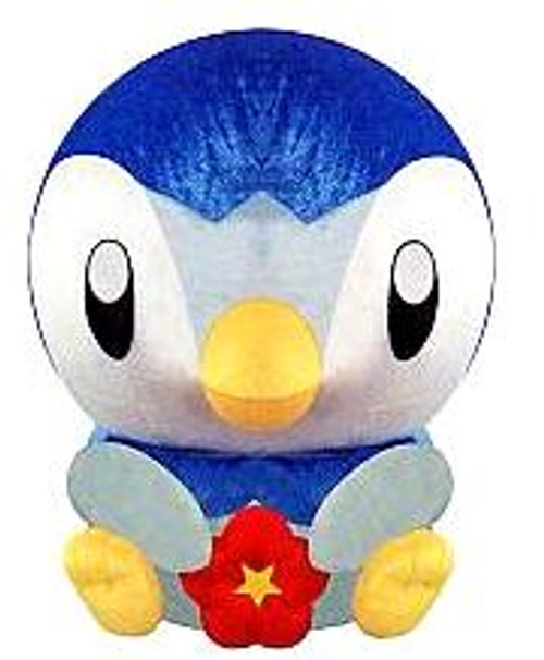 Pokemon Diamond & Pearl 10 Inch Piplup Plush [Red Flower]